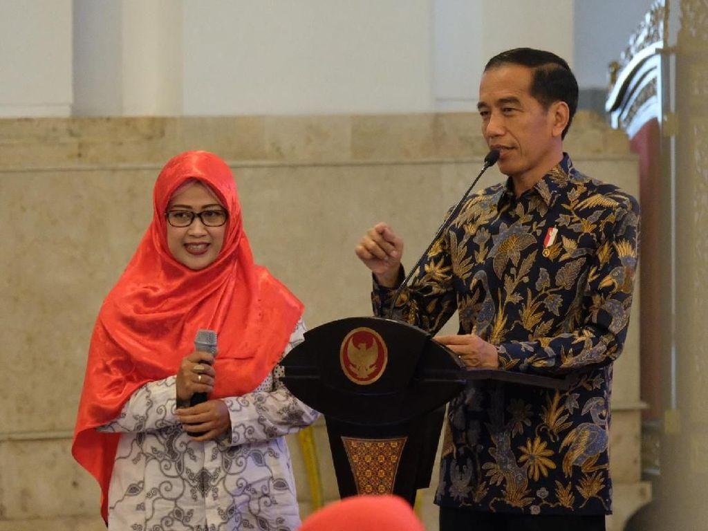 Bu Mega Curhat ke Jokowi Sulitnya Ikut Sertifikasi Guru