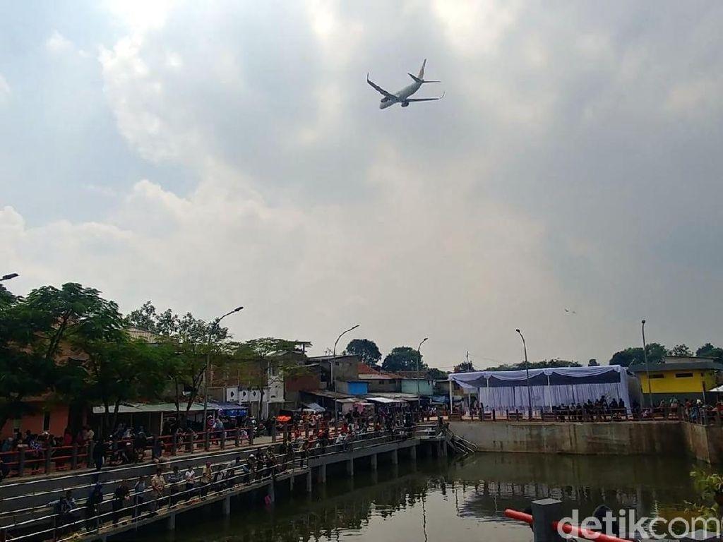 Foto: Bisa Mancing Sambil Lihat Pesawat Terbang di Bandung