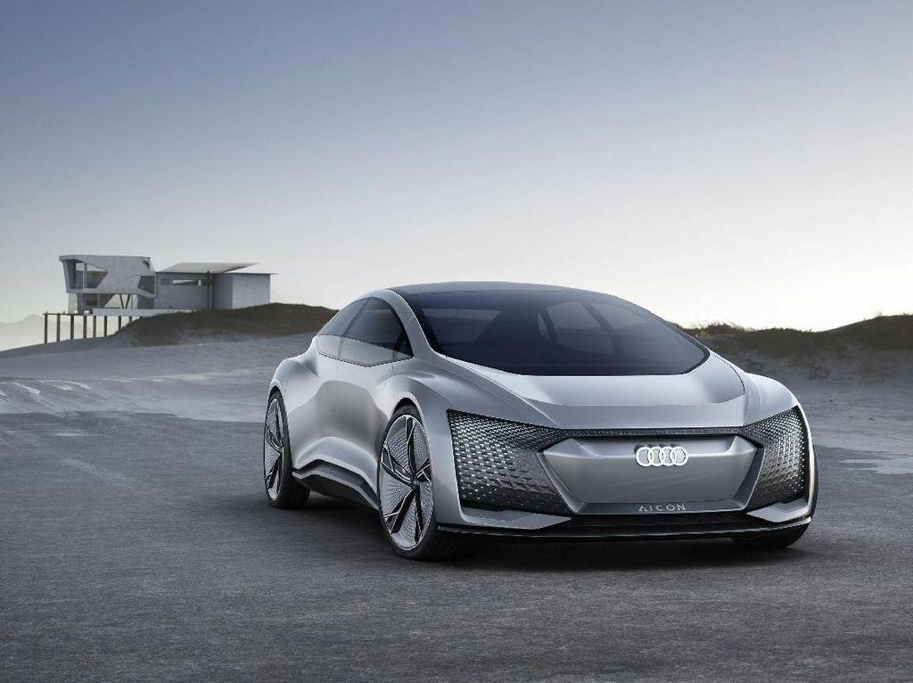 Audi Mulai Pamer Mobil Otonom Masa Depan