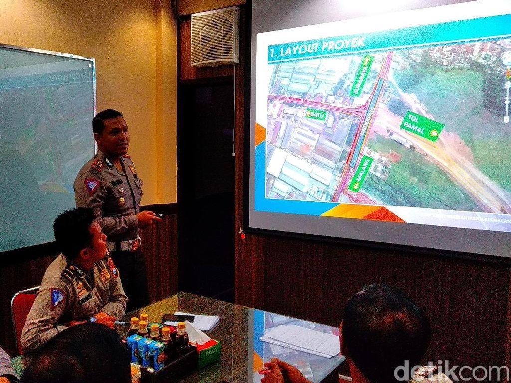 Pembangunan Underpass Karanglo Dimulai, Lalin di Malang Direkayasa