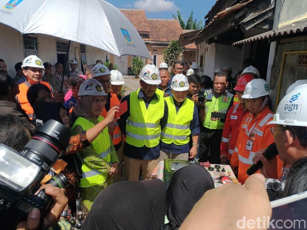 5.043 Rumah di Serang Dapat Sambungan Gas