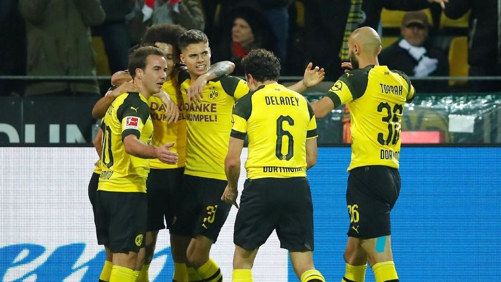 Gol-gol Keren Dortmund Menggilas Hannover