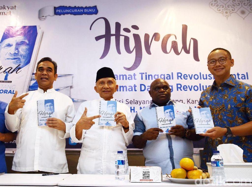Amien Rais Kritik Jokowi Lewat Buku Hijrah