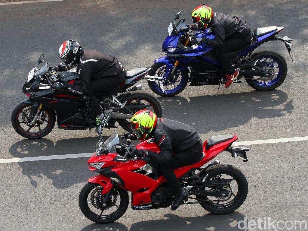 Adu Fitur dan Harga Honda CBR250RR vs Kawasaki Ninja vs Yamaha R25