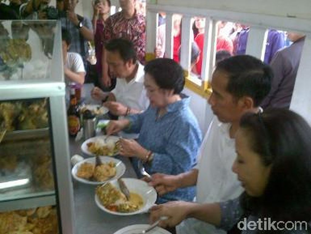Megawati hingga Anies Baswedan, Ini 8 Tokoh yang Pernah Jajan di Warteg