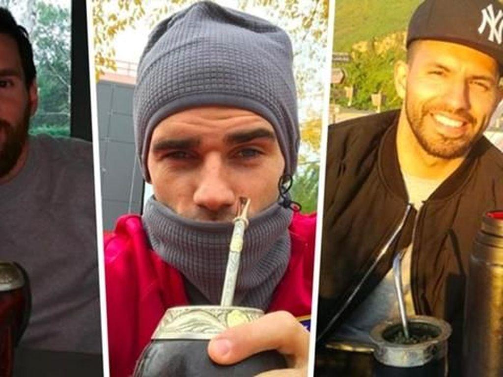 Ini Teh Mate, Minuman yang Disukai Messi, Luis Suarez, dan Pesepakbola Dunia