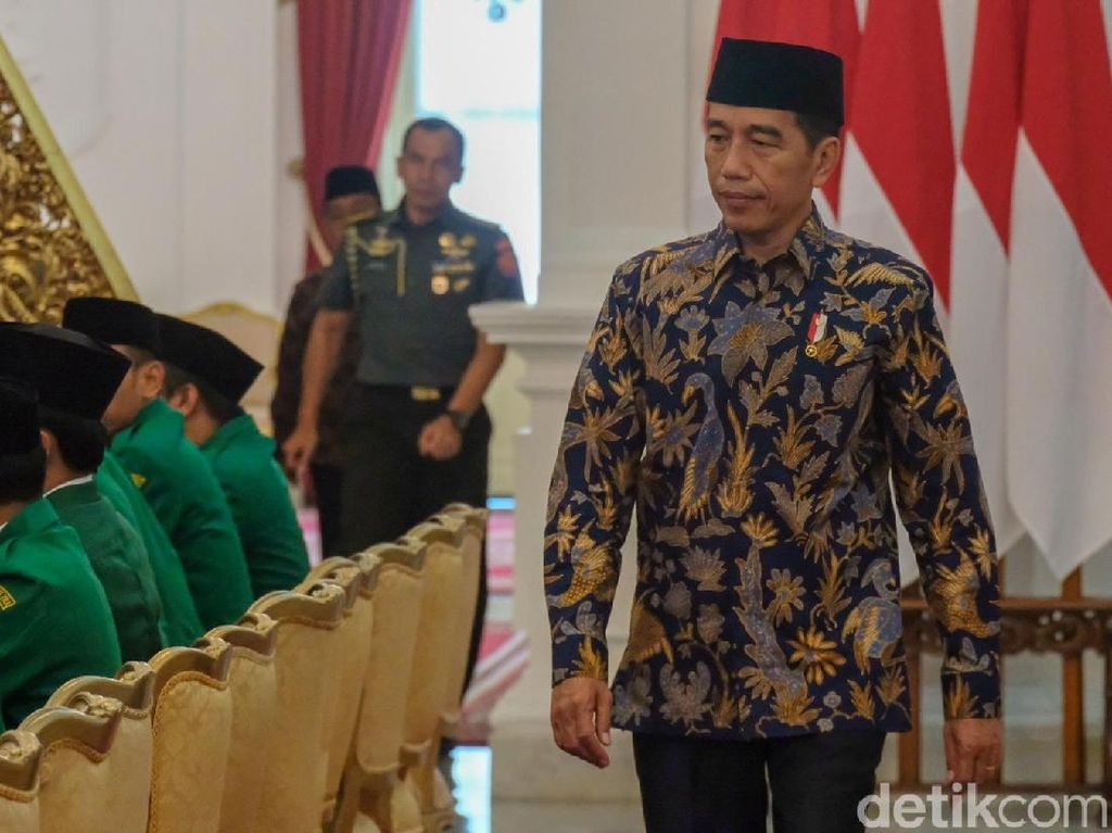 GP Ansor Temui Jokowi di Istana, Bahas Situasi Politik