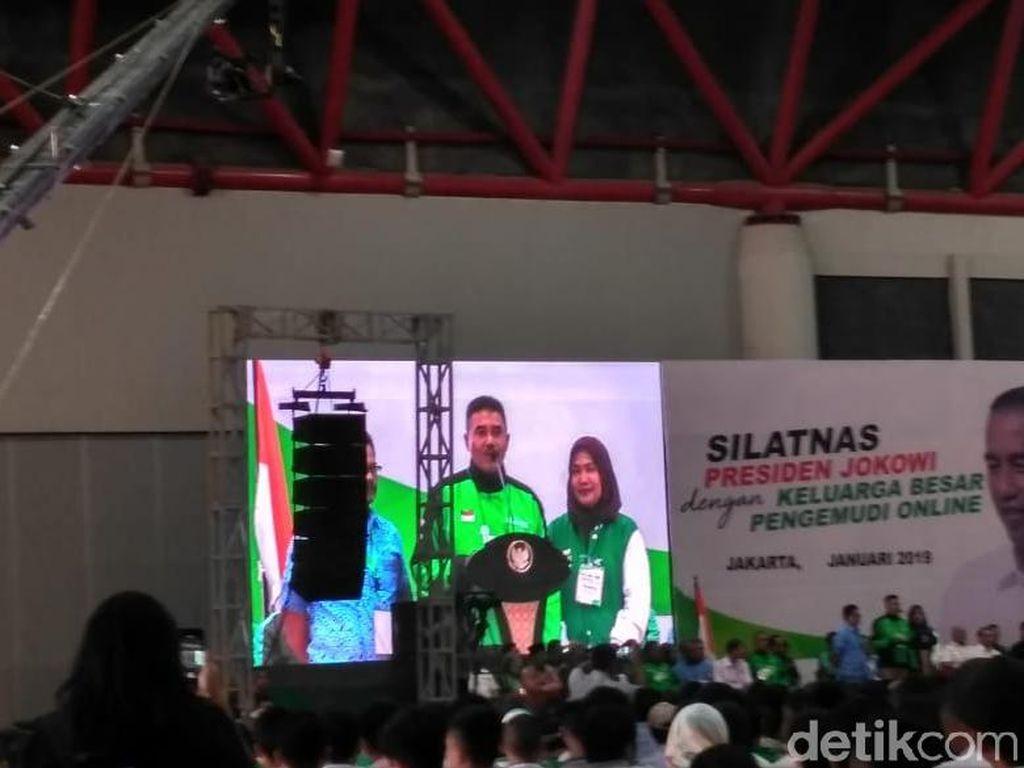 Sopir Ojol ke Jokowi: Terima Kasih Sudah Buka Lapangan Kerja
