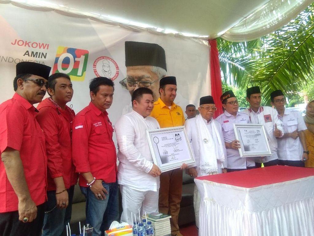Maruf Amin: Yang Tidak Lihat Kerja Jokowi, Ente Tidur Ngorok
