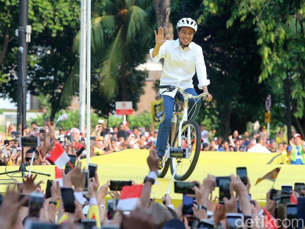 Mengenal Sepeda Bambu yang Dipakai Jokowi