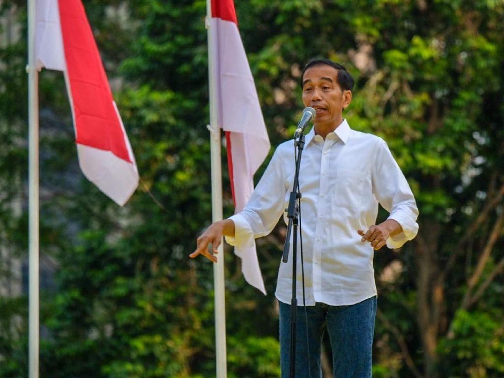 Jengkelnya Jokowi dengan Orang yang Sebut Indonesia Punah!