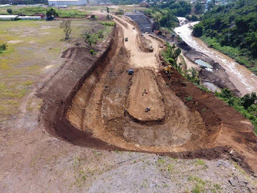 Ini Lho Proyek Penangkal Banjir di Kabupaten Bandung