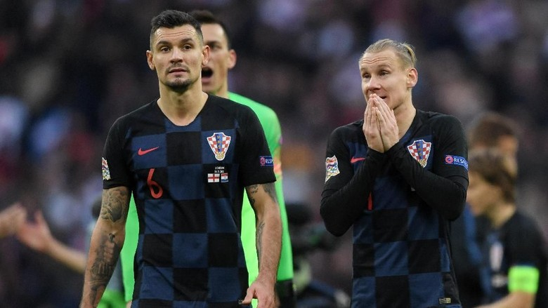 Berkata Kasar soal Ramos dan Spanyol, Lovren Dihukum UEFA