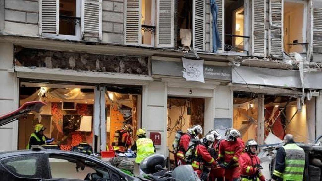 Ledakan Keras Guncang Paris, Beberapa Orang Luka-luka