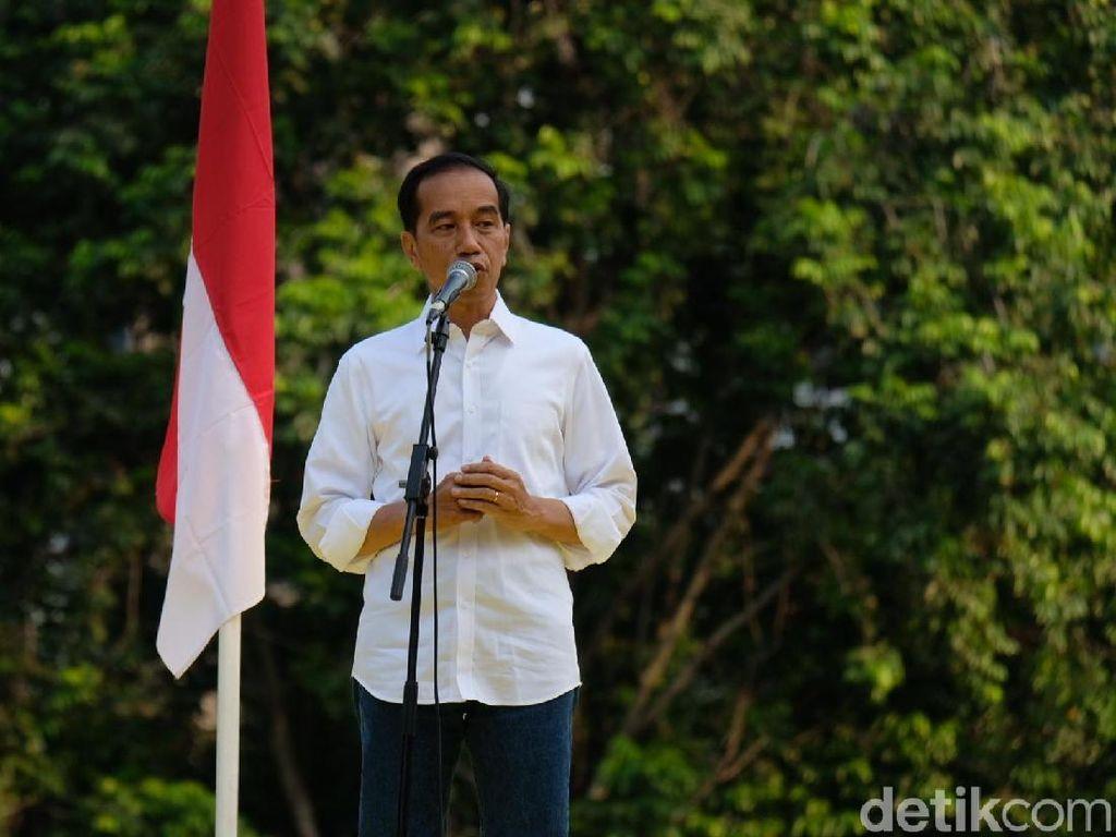 Di Depan PNS, Jokowi Cerita Kalah Saing dengan Bisnis Anaknya