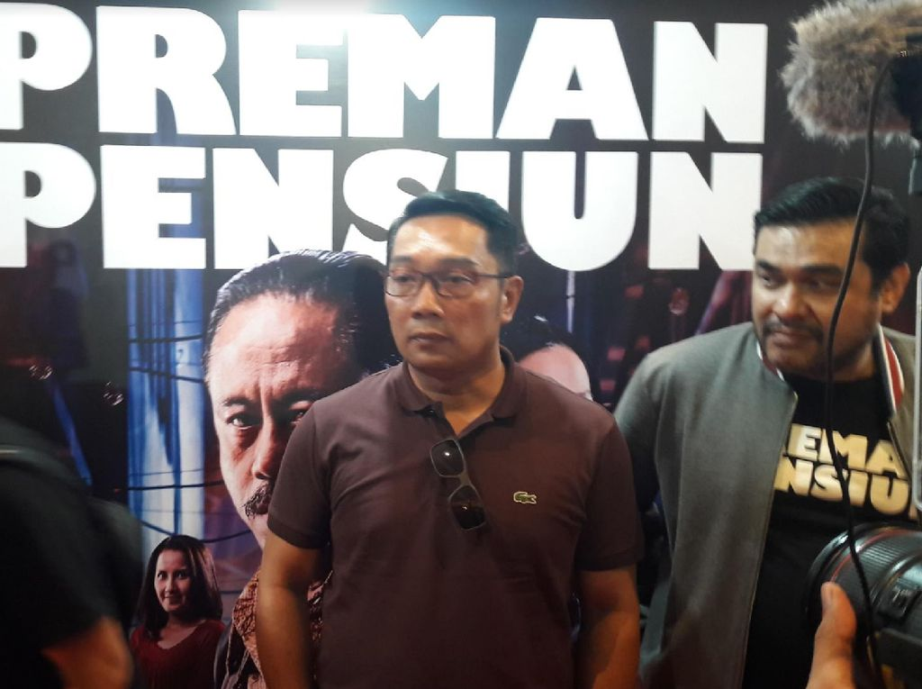 Kental Budaya Sunda, Ridwan Kamil Ajak Warga Jabar Nonton Preman Pensiun