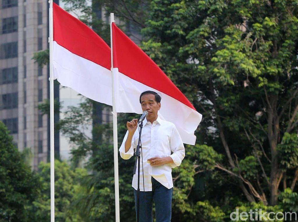 Pidato Berapi-api Jokowi: Negara Punah Hingga Tuduhan Antek Asing