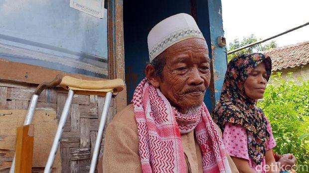 Marbot Masjid di Sukabumi Ini Tinggal di Gubuk Seluas Pos Ronda