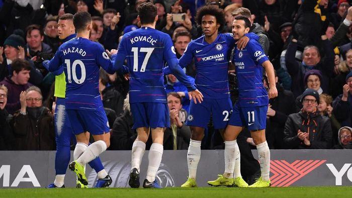 Chelsea susah payah mengalahkan Newcastle United 2-1 di pekan ke-22 Liga Inggris. (Foto: Justin Setterfield/Getty Images)