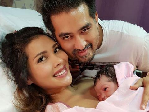 Nadia Mulya melahirkan anak keempat/