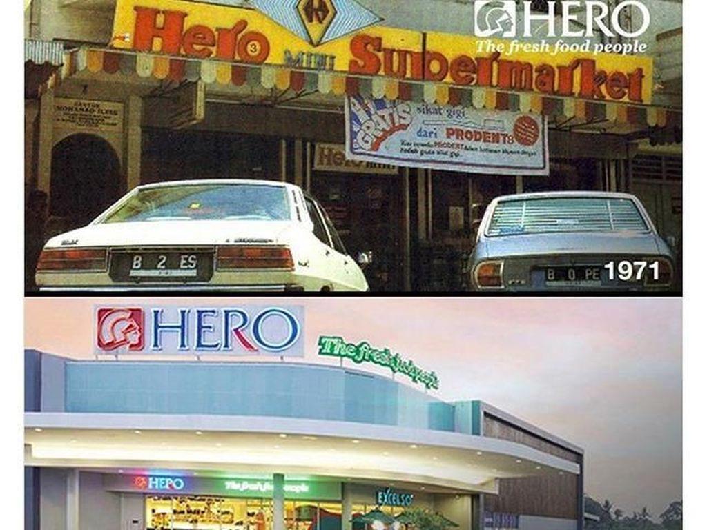 Sejarah Supermarket HERO di Indonesia yang Tutup 26 Toko