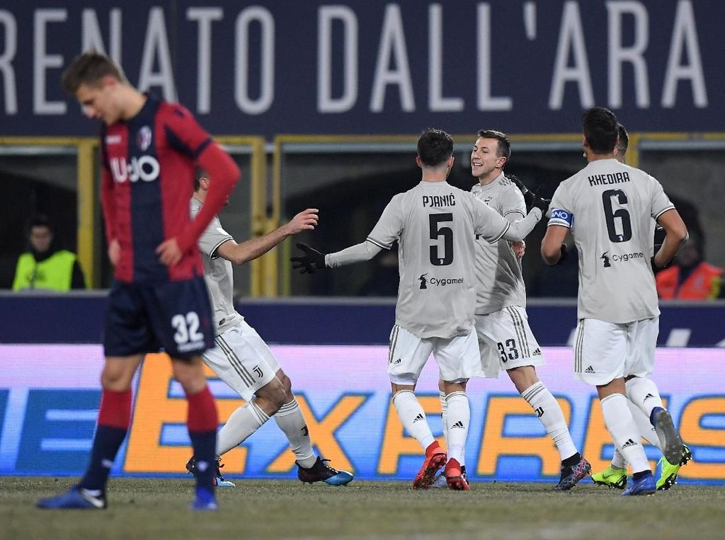 Hasil Coppa Italia: Juve Tembus Perempatfinal Usai Kalahkan Bologna
