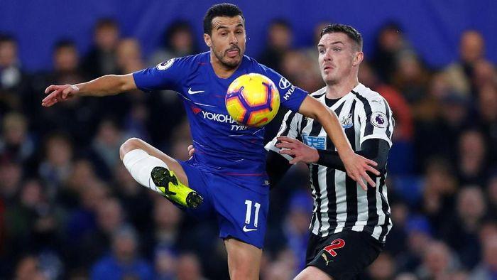Chelsea ditahan Newcastle United 1-1 di babak pertama pertandingan Liga Inggris pekan ke-22. (Foto: Eddie Keogh/Reuters)