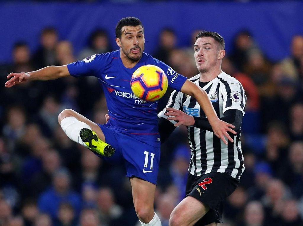 Chelsea Ditahan Newcastle 1-1 di Babak Pertama