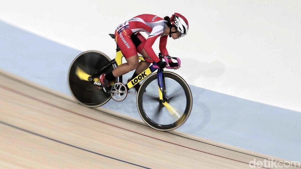 Ayustina Delia Gagal Raih Medali di Kejuaraan Asia Balap Sepeda