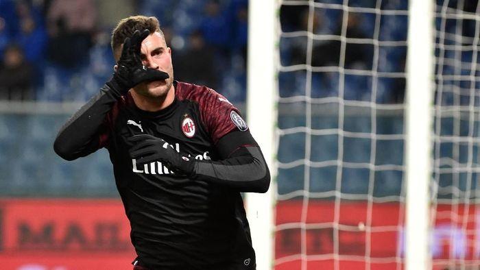 Patrick Cutrone adalah top skorer AC Milan musim ini dengam sembilan gol (Paolo Rattini/Getty Images)