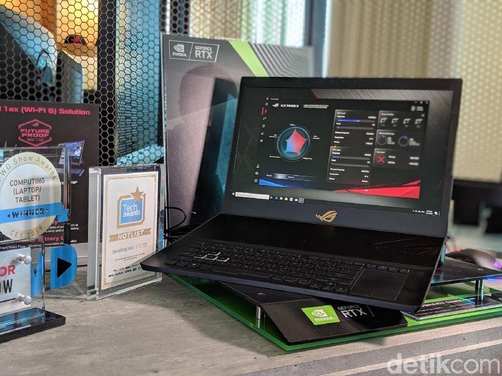 Asus ROG Mothership, Berkonsep Surface Pro Tapi Lebih Gahar
