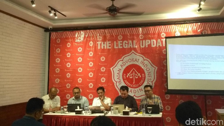 Ikatan Advokat Indonesia: Visi Misi Capres-Cawapres Jangan Abstrak