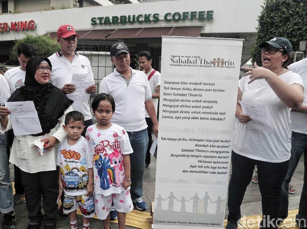 Aksi Mengenang Tragedi Bom Thamrin