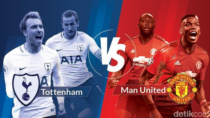 Man United Libas Tottenham