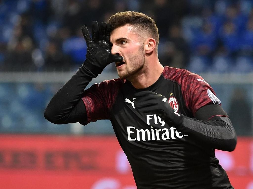 Video Dua Gol Patrick Cutrone yang Menangkan AC Milan