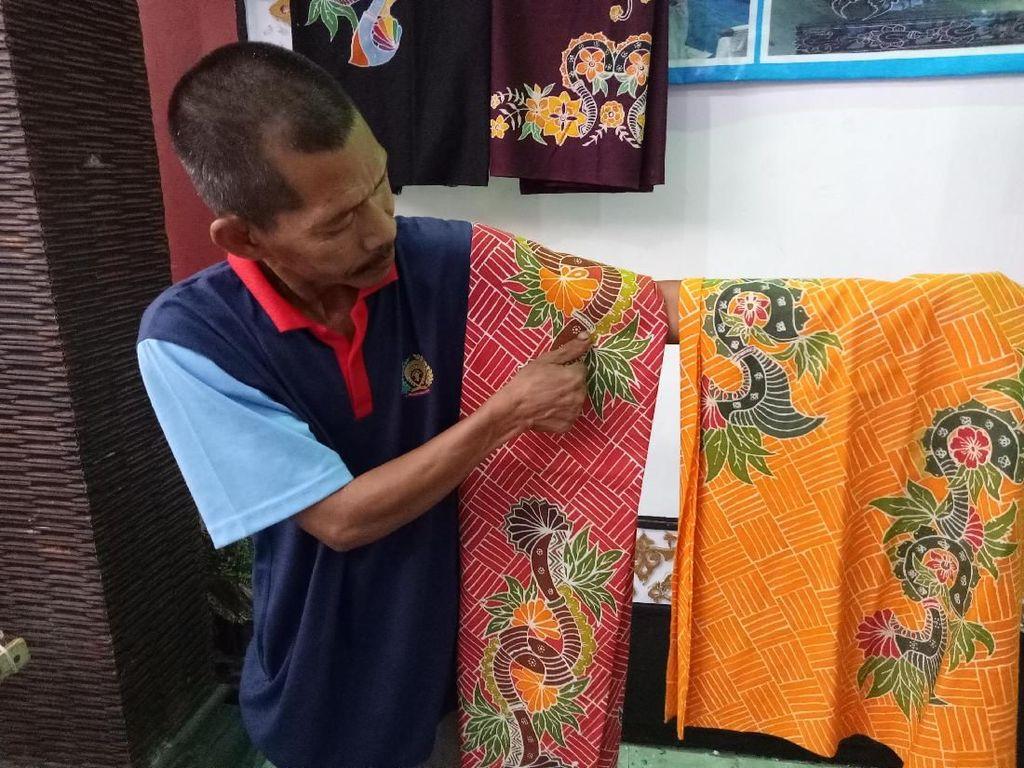 Batik Tulis Bagajo Karya Warga Lapas Banyuwangi Keren Banget!