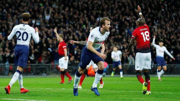 Gol Harry Kane dianulir wasit.