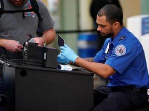 AS Uji Coba Pos Pemeriksaan Pemindai Wajah di Bandara