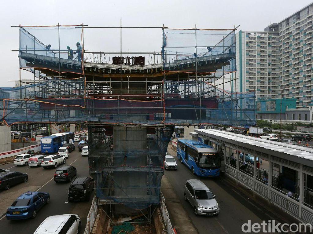 Sempat Terhambat, LRT Jabodebek di Dukuh Atas Digarap Minggu Depan