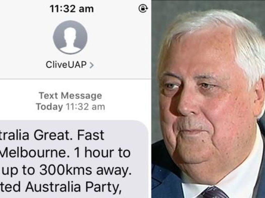 Politisi Australia Tetap Akan Mengirim SMS Walau Ada Protes dari Warga