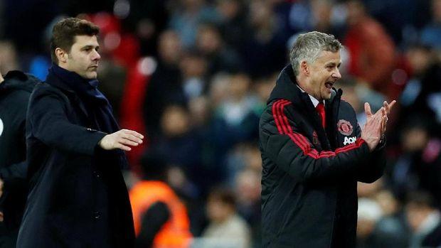 Serangan Manchester United lebih dinamis di bawah arahan Ole Gunnar Solskjaer. (