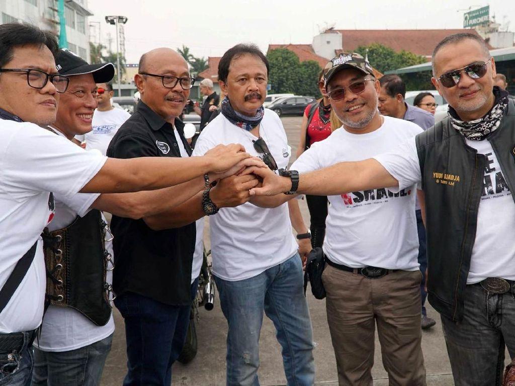 Lima Komunitas Moge Bentuk Bikers Peduli