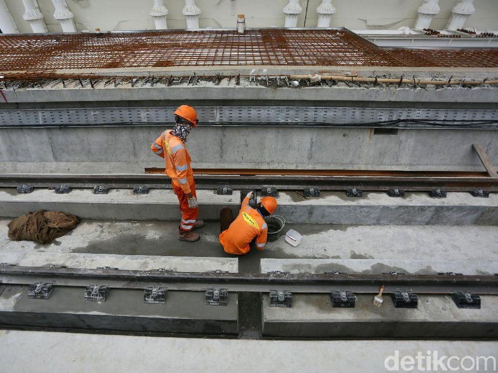 Velodrome-Manggarai Juga Akan Tersambung LRT Jakarta