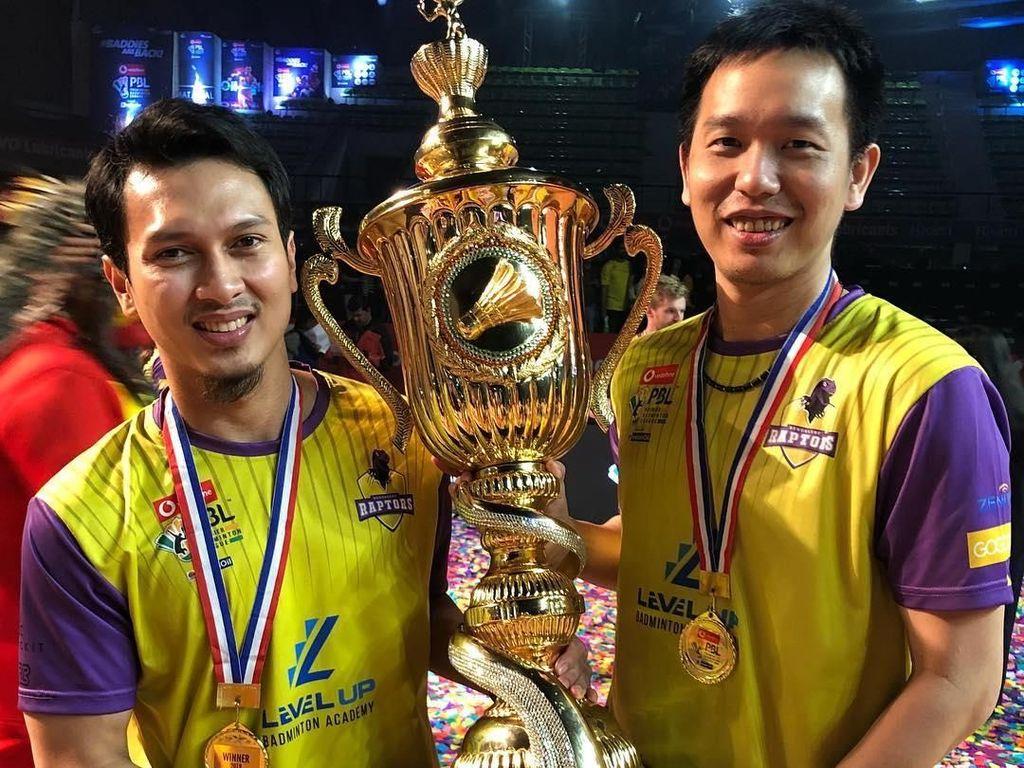Hendra/Ahsan Juara di Liga India