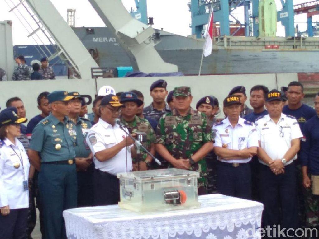 CVR Lion Air Ditemukan, Tim juga Angkat 7 Kg Bagian Tubuh Korban