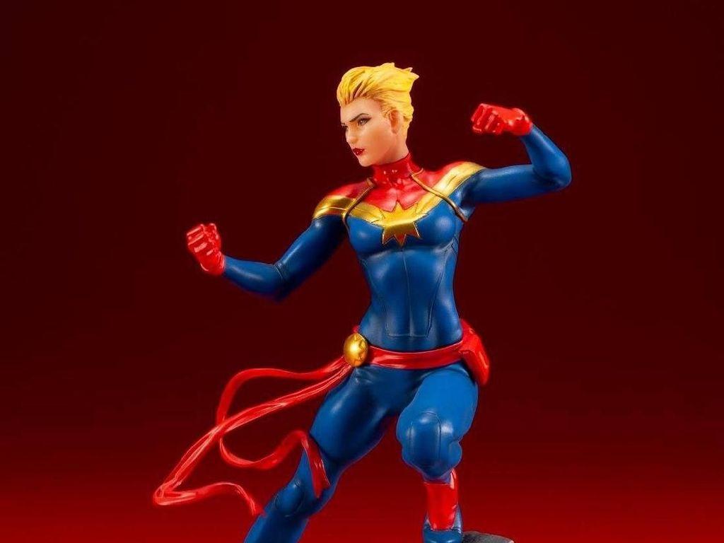 Action Figure Captain Marvel Mulai Beredar di Jepang