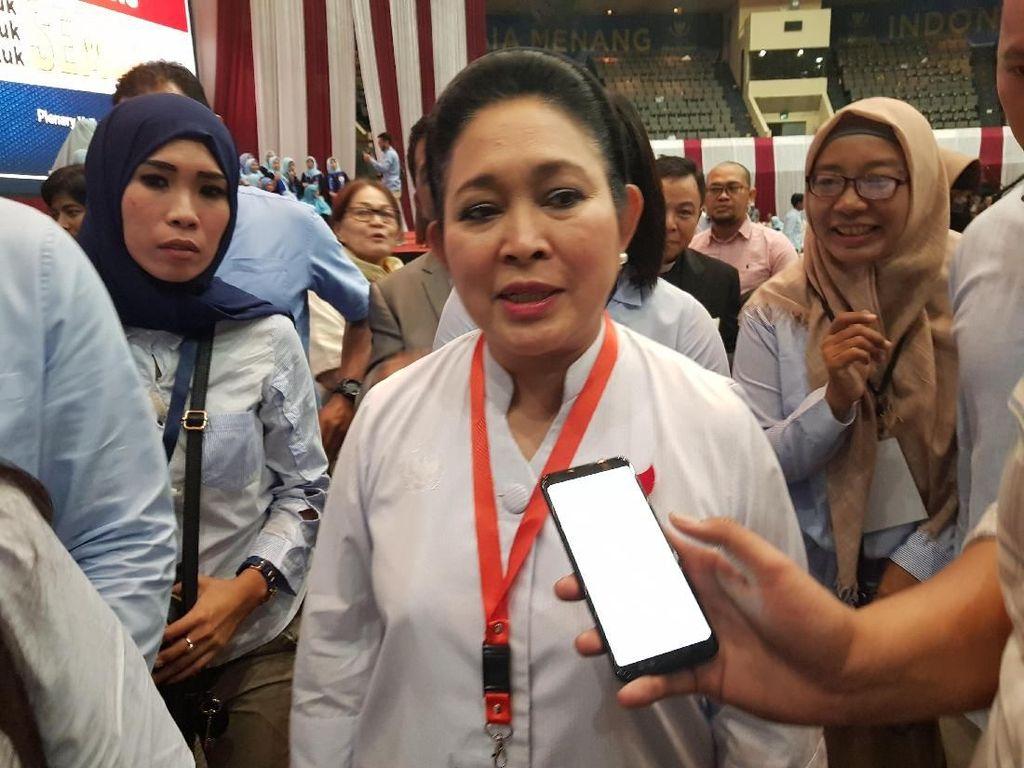 Titiek Soeharto: Prabowo Pidato Indonesia Menang Paling The Best