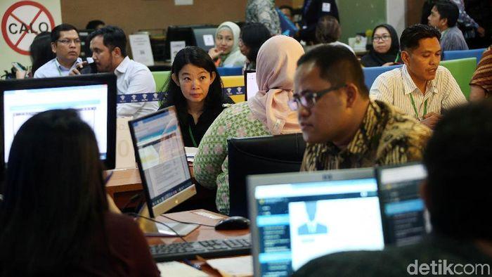 Suasana Pelayanan OSS di Kantor BKPM. Foto: Rengga Sancaya