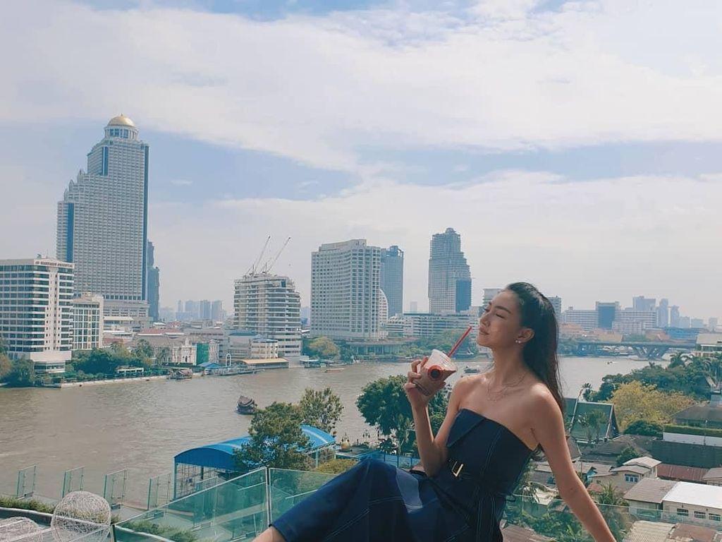 Mengintip Ragam Makanan Sehat Artis Thailand Khemanit Jamikorn