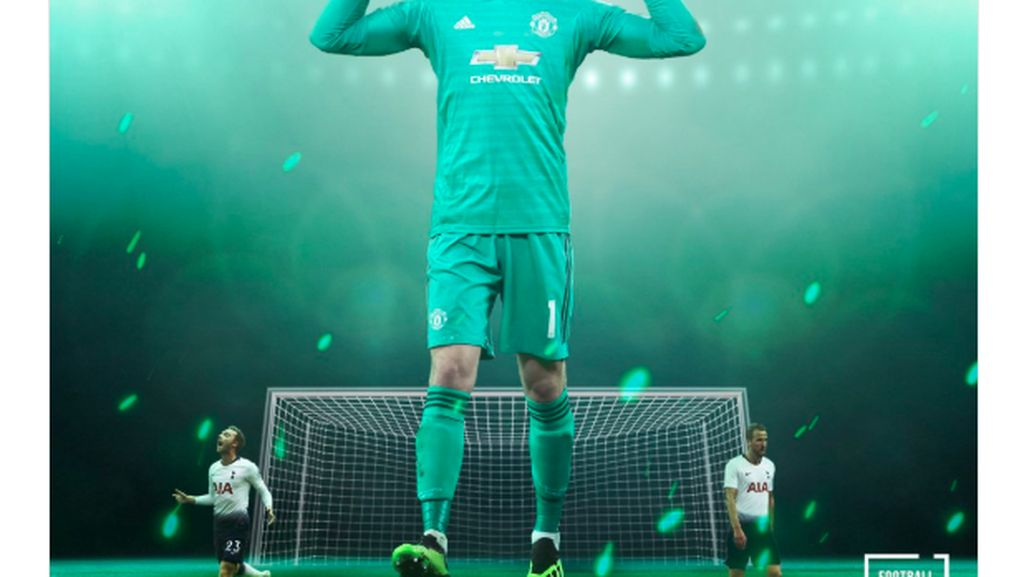 Sang Super Hero, Meme Lucu Memuji David de Gea